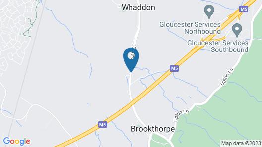 Brookthorpe Lodge Map
