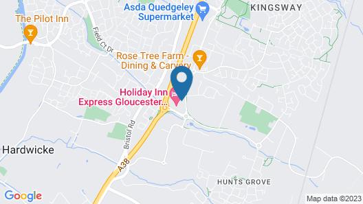 Holiday Inn Express Gloucester - South Map