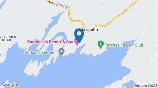 Parknasilla Resort and Spa Map