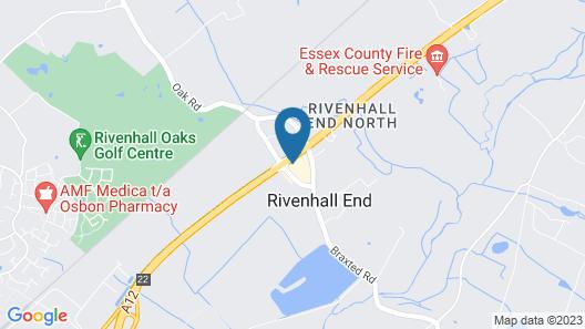 Rivenhall Hotel Map