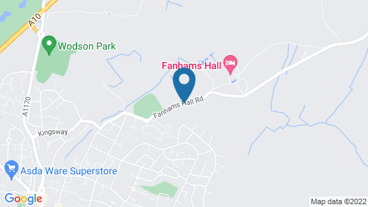 Fanhams Hall, Exclusive Collection Map