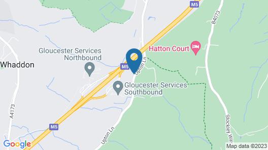 Hatton Court Map
