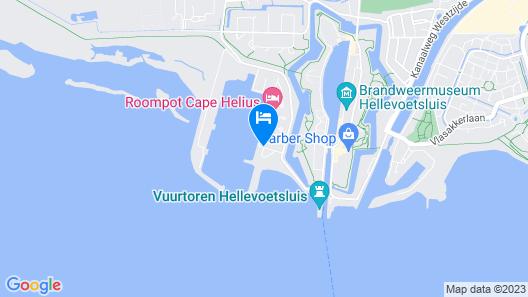 Roompot Beachhotel Cape Helius Map