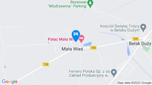 Palac Mala Wies Map