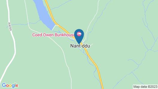 Nant Ddu Lodge Hotel Map