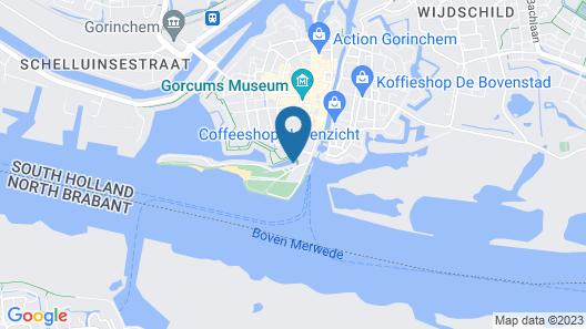 Boutique Hotel Karel de Stoute Map