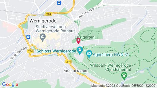 Hotel Erbprinzenpalais Map