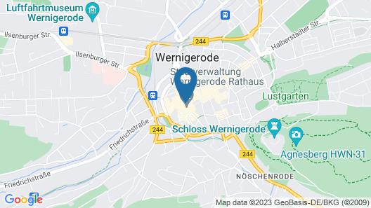 Travel Charme Gothisches Haus Map