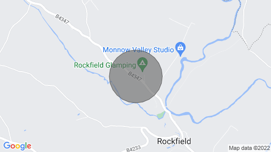 1 Bedroom Accommodation in Rockfield, Near Monmouth Map