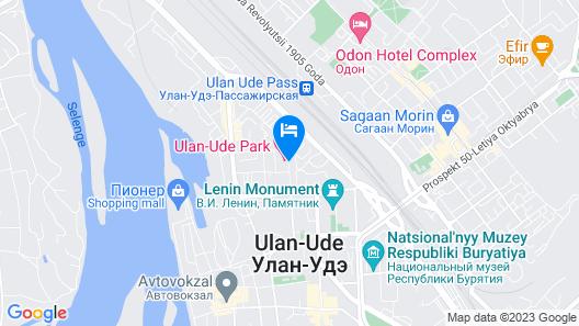 Ulan-Ude Park Hotel Map