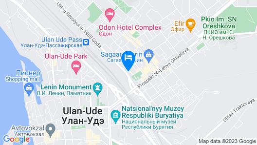 Shumak Hotel Map