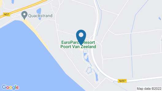 Europarcs Resort Poort van Zeeland Map