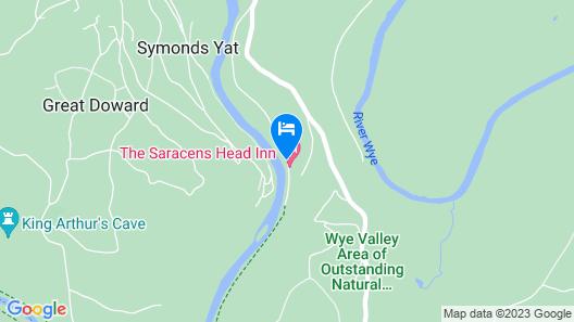 The Saracens Head Inn Map