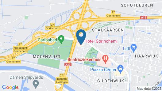 Hotel Gorinchem Map