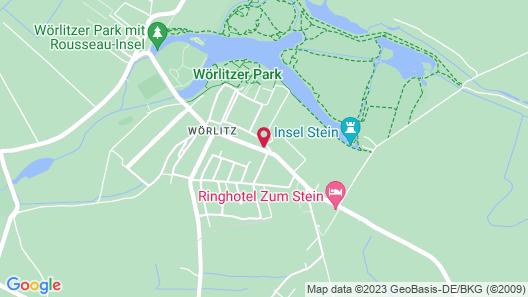 Parkhotel Wörlitz Map