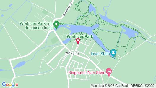 Hotel Landhaus Wörlitzer Hof Map