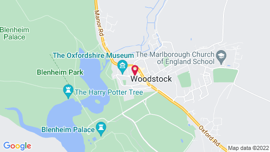 Woodstock Arms Map