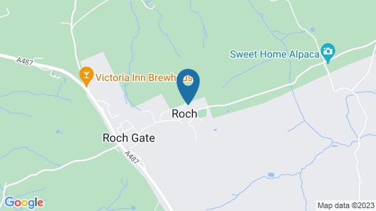 Roch Castle Hotel Map