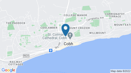 Historic 150 Year Old Newly Updated Family Home in Cobh, Co. Cork Map