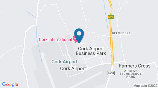 Cork International Hotel Map