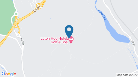 Luton Hoo Hotel, Golf And Spa Map