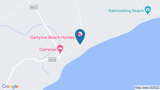 Garryvoe Beach Homes Map