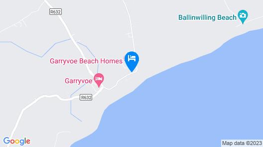 Garryvoe Beach Homes Map