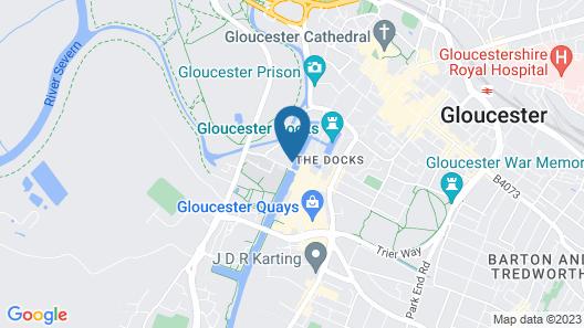 Hotel Boat Edward Elgar Map