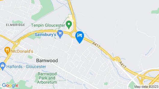 Holiday Inn Gloucester-Cheltenham Map