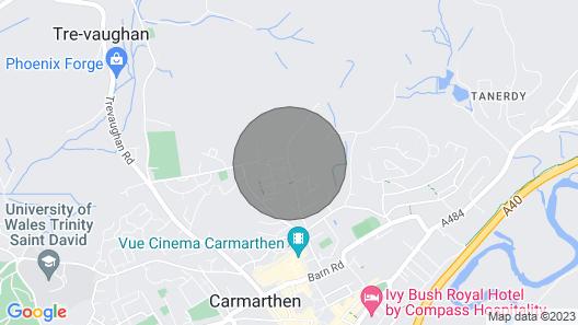 Penlan Barn Map