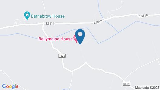 Ballymaloe House Map