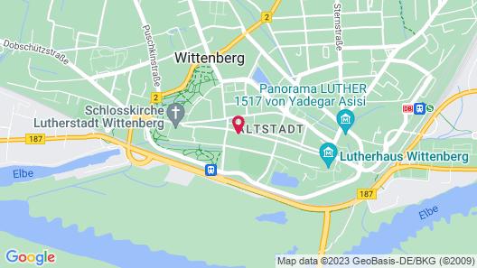 Brauhaus Wittenberg Map