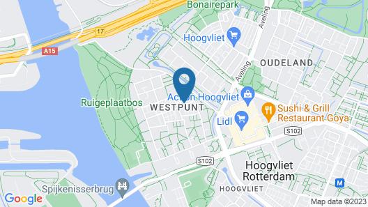 Takoda Apartment Tiger Room Hoogvliet Rotterdam Map
