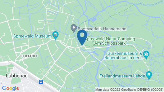 Schloss Lübbenau im Spreewald Map