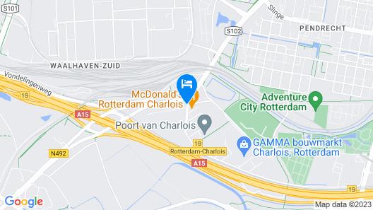 Bastion Hotel Rotterdam Zuid Map
