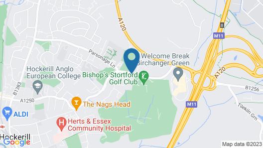 Woodlands Lodge Map