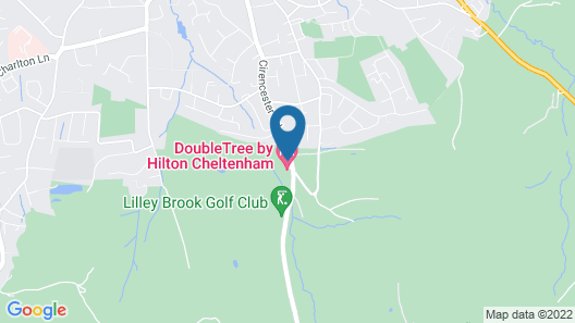 Doubletree by Hilton Cheltenham Map
