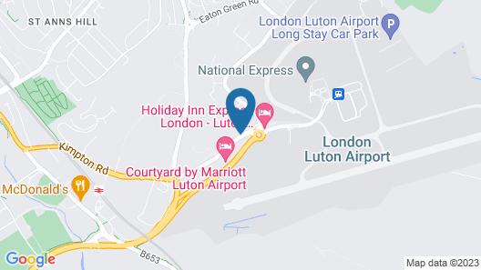 Holiday Inn London - Luton Airport Map