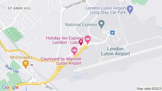 ibis London Luton Airport Map