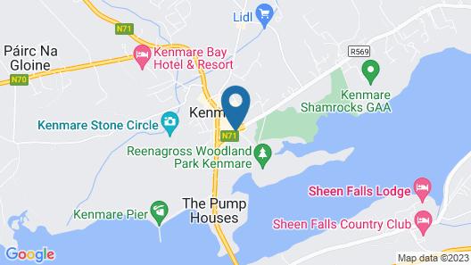Park Hotel Kenmare Map