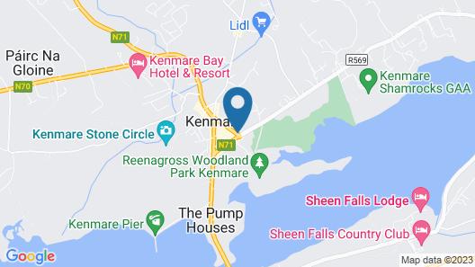 Lansdowne Arms Hotel Map