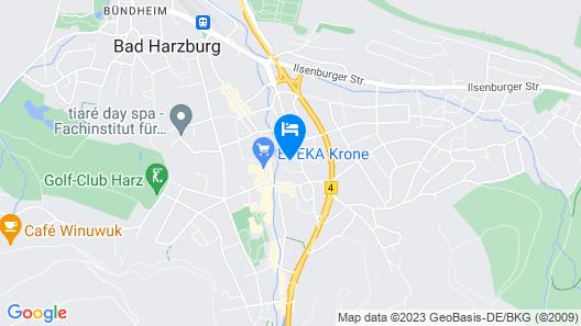 Ferienwohnung Am Mühlenbach Map