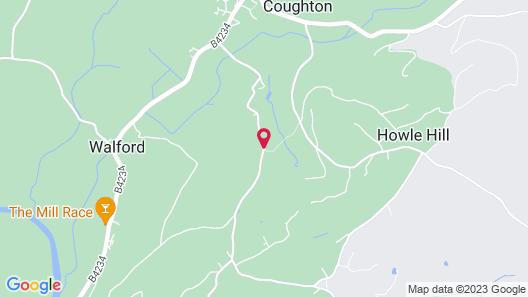 Lower Wythall B&B Map