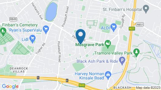 CitiVille Cork City Map