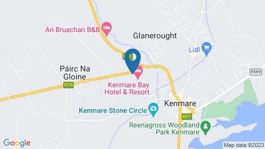 Kenmare Bay Hotel & Resort Map