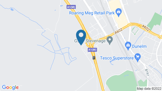 Novotel Stevenage Map