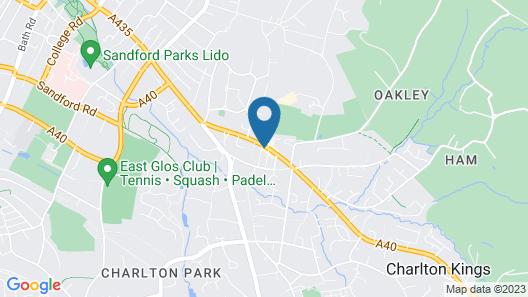 London Inn Map