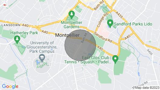 Exceptional, Boutique Retreat Bath Road Map