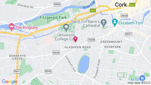 Hayfield Manor Map