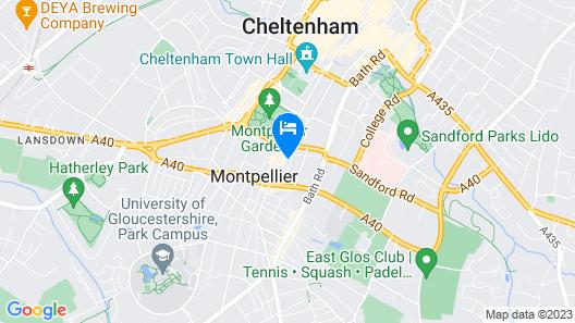 Hidden gem in the Centre of Montpellier Map